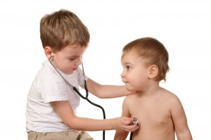 Children Play Doctor - Home Defibrillator
